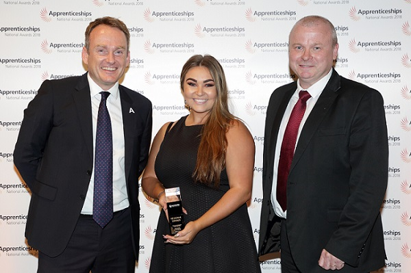 Hays scoop top prizes at National Apprenticeship Awards