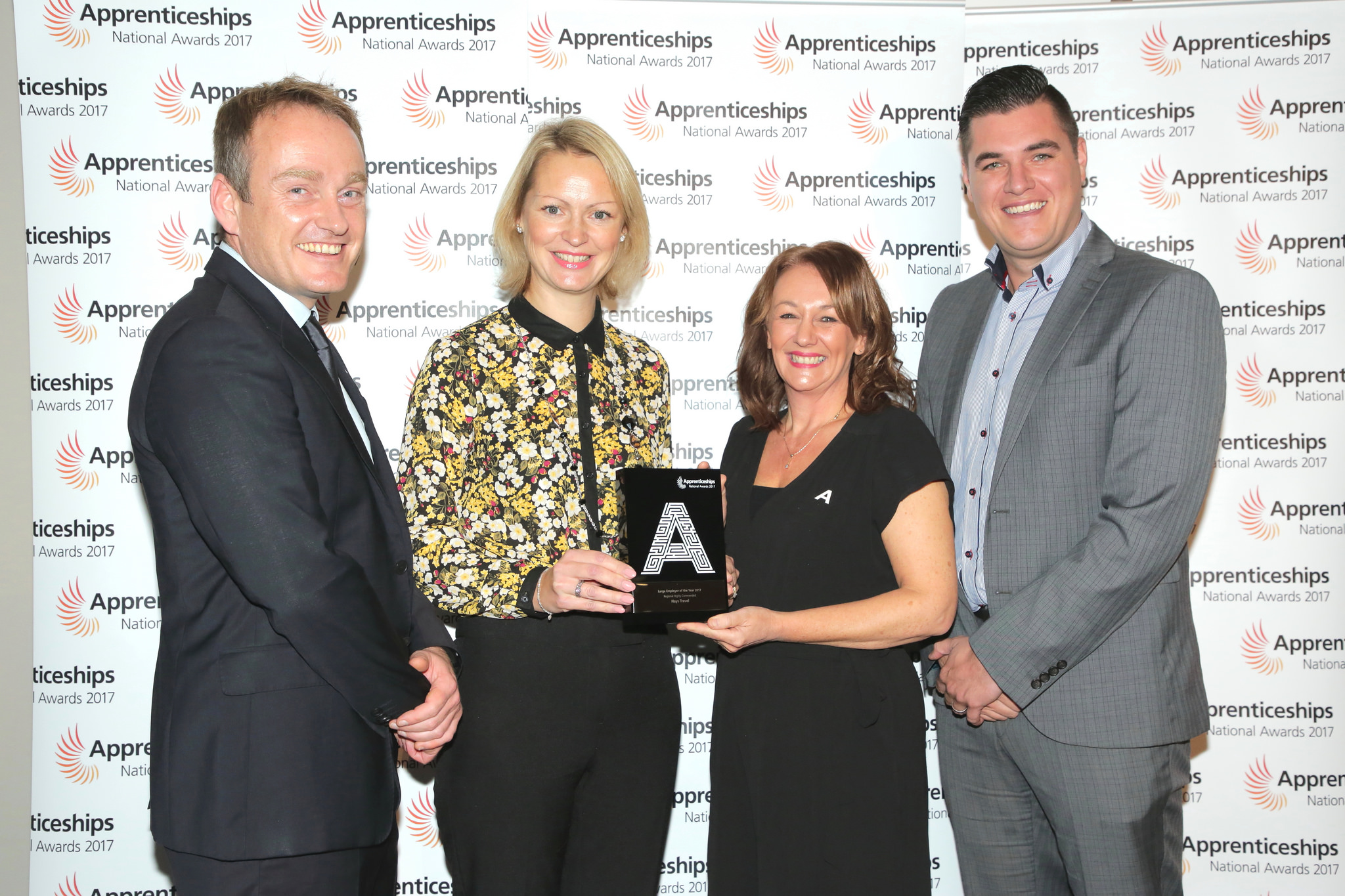 Hays Travel scoops top slot for apprenticeships