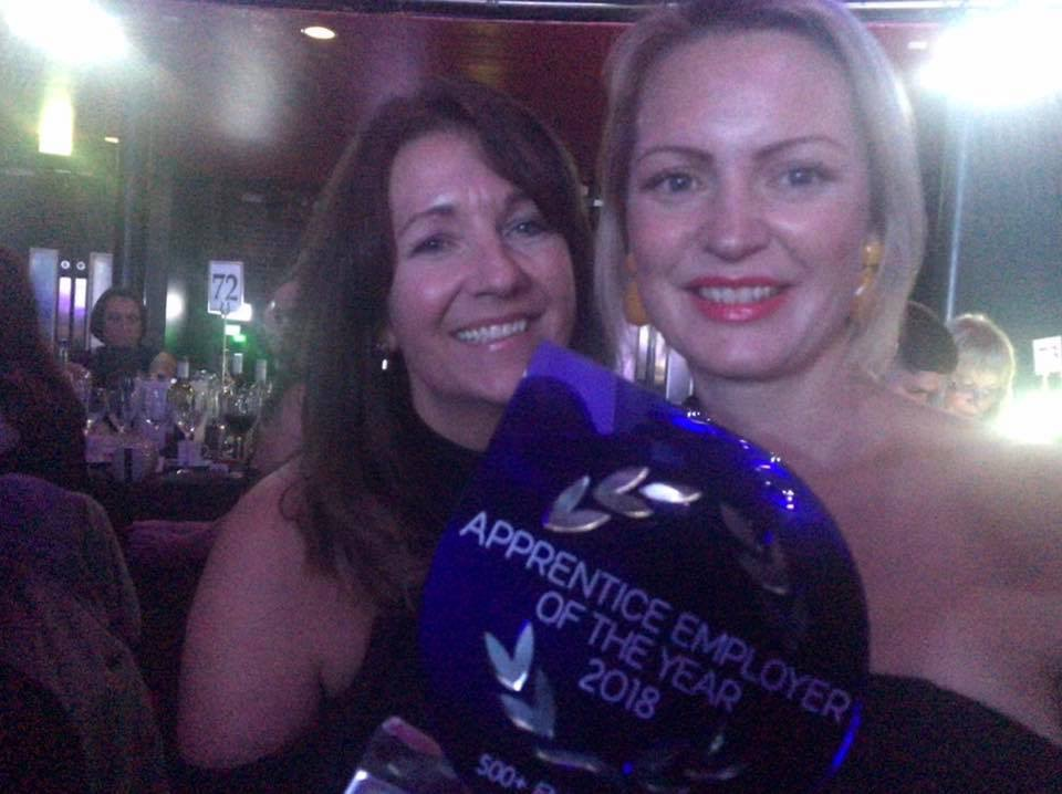 Hays Travel wins Apprentice Employer of the Year award