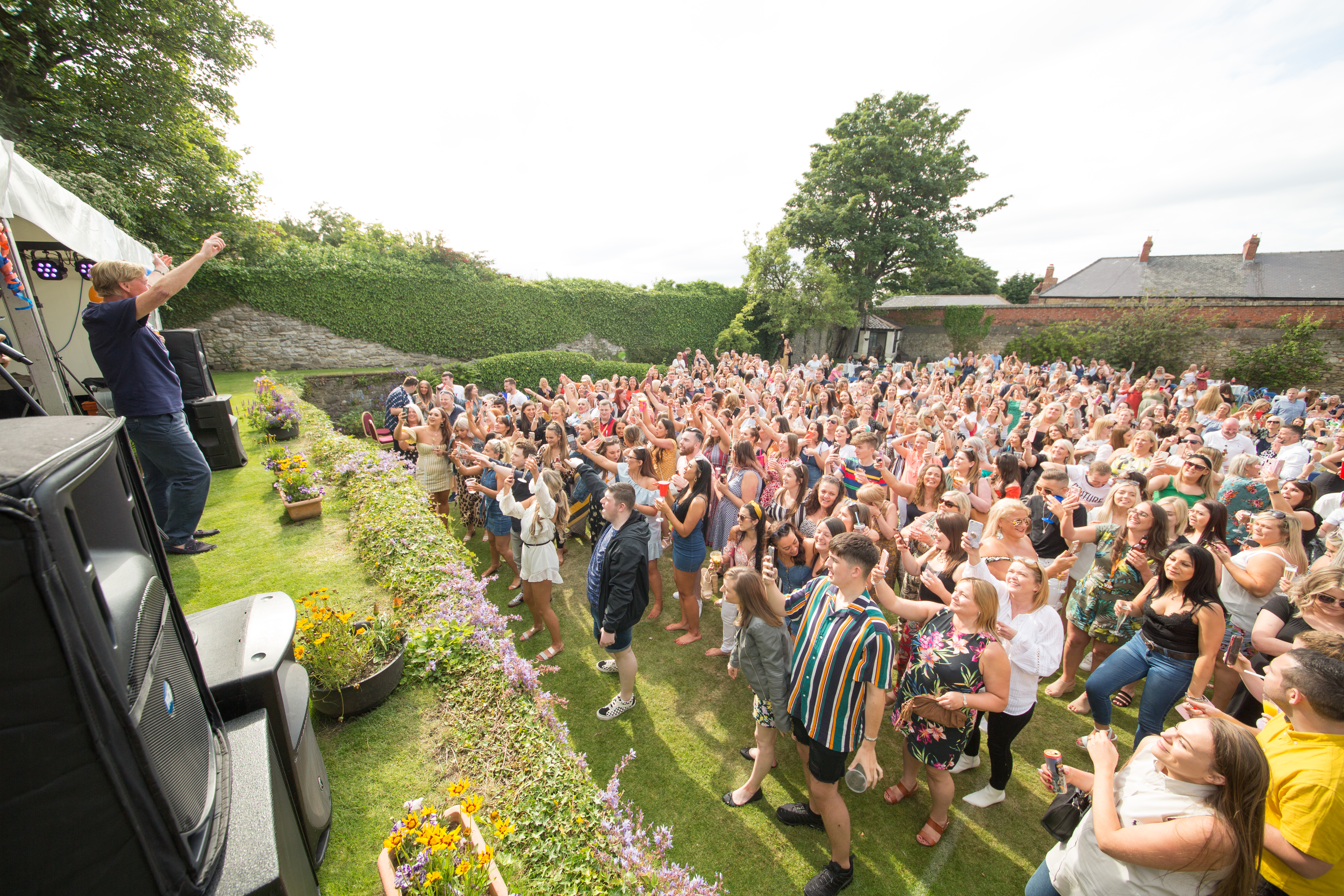 This year's Garden Party was the largest event yet