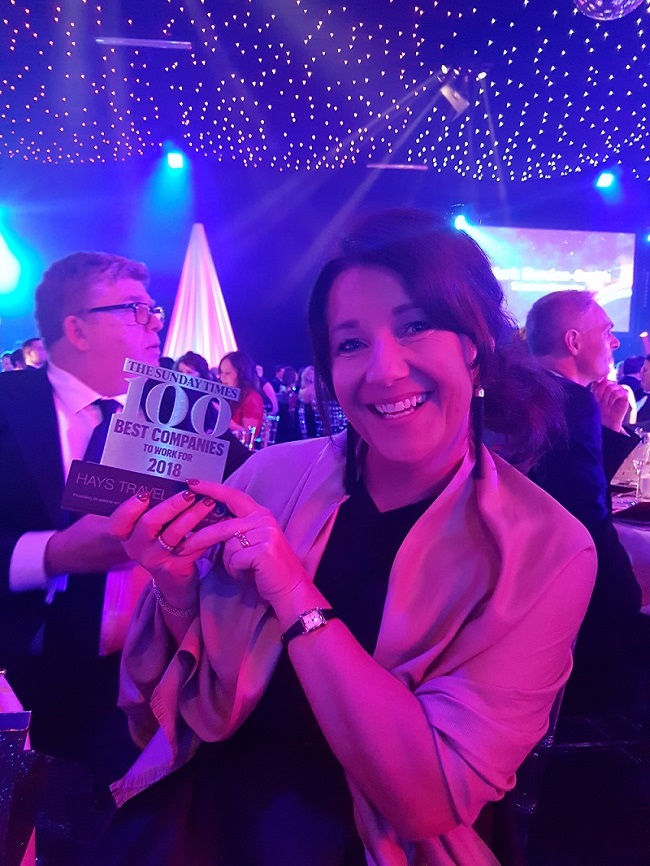 Hays Travel recognised as one of the UK's happiest and most motivated workforces!
