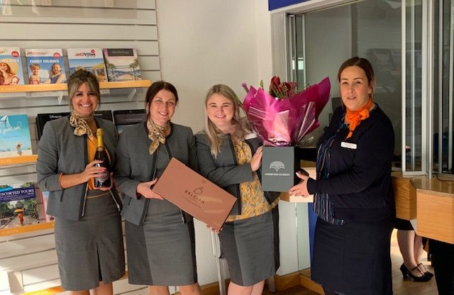 First Hays Travel holiday made at Thomas Cook shop