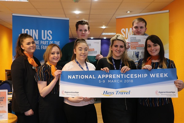 Recruiting for tomorrow during National Apprenticeship Week