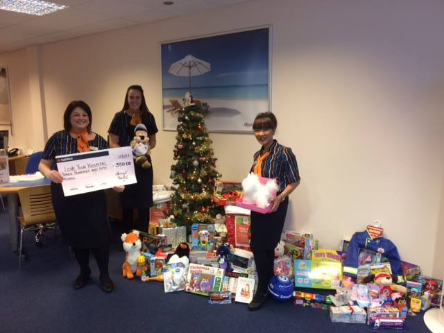 Customer generosity boosts toy appeal